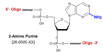 picture of 2-Amino Purine deoxyribose