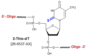 picture of 2-Thio-dT (S2dT)