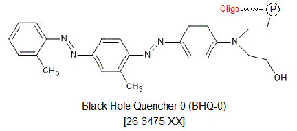 picture of BHQ-0 (Black Hole Quencher 0, 3')