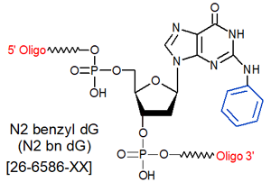 picture of N2-benzyl dG [N2BndG]