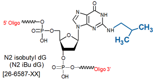 picture of N2-isobutyl dG [N2iBudG]