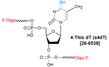 picture of 4-Thio-dT (S4dT)