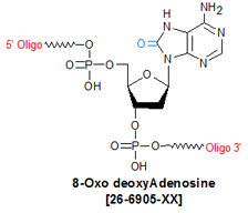 picture of 8-Oxo deoxyAdenosine