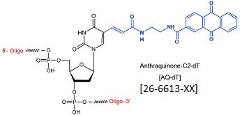 picture of Anthraquinone-C2-dT