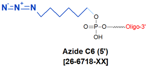 picture of Azide C6 (5')