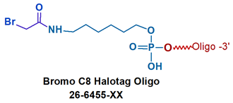 picture of Halotag Oligo Bromo C8