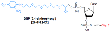 picture of DNP TEG (2, 4-dinitrophenyl)