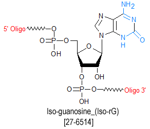 picture of Iso-riboGuanosine-(Iso rG)