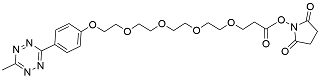 picture of Tetrazine methyl PEG4 Oligo