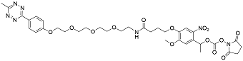 picture of Tetrazine methyl  Photocleavable Oligo