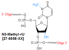 picture of N3-methyl-rU (m3U)
