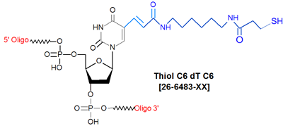 picture of Thiol C6 dT