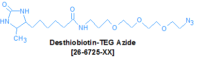 picture of DesthiobiotinTEG Azide